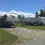 Campsites at Maplewoods Campground in Johnson, Vermont