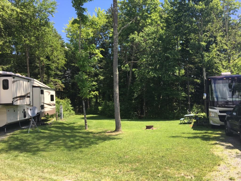 Maplewoods Campground in Johnson, Vermont
