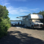 Premium waterfront sites at Narrows Too Campground