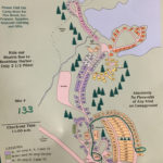 Campground map for Shore Hills Campground
