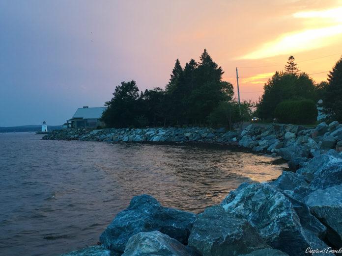 Sunset in Saint Andrews, New Brunswick