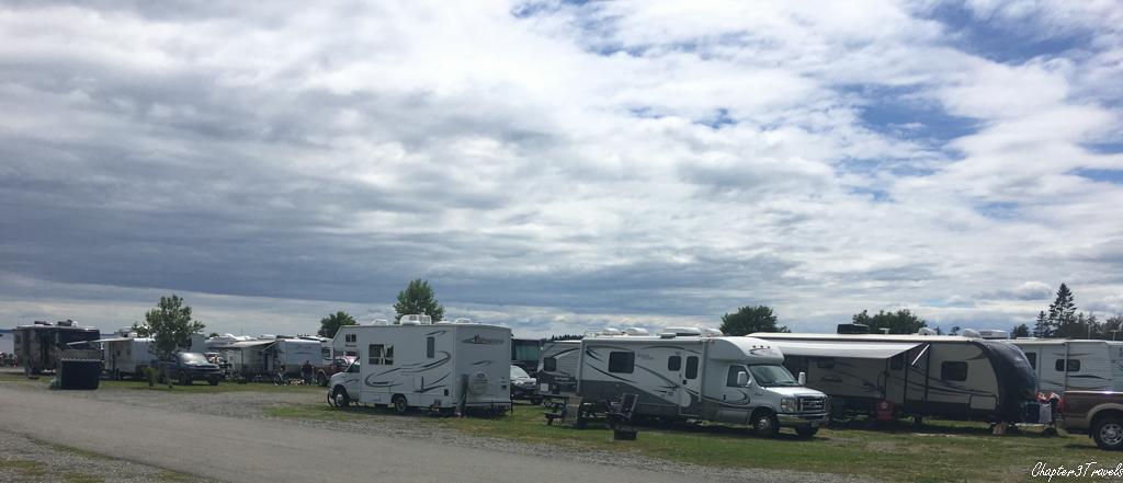 Oceanfront Camping interior campsites