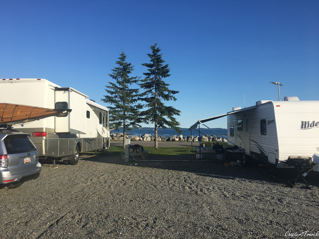 Kiwanis Oceanfront Camping waterfront campsite