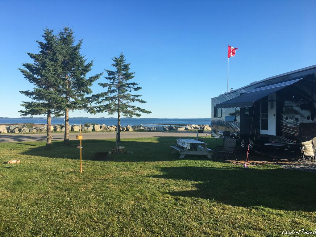 Kiwanis Oceanfront Camping campsite