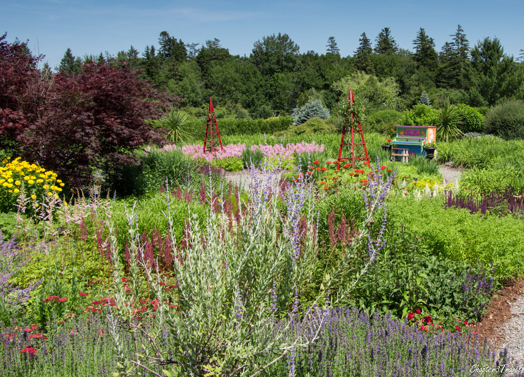 Kingsbrae Garden in Saint Andrews, New Brunswick