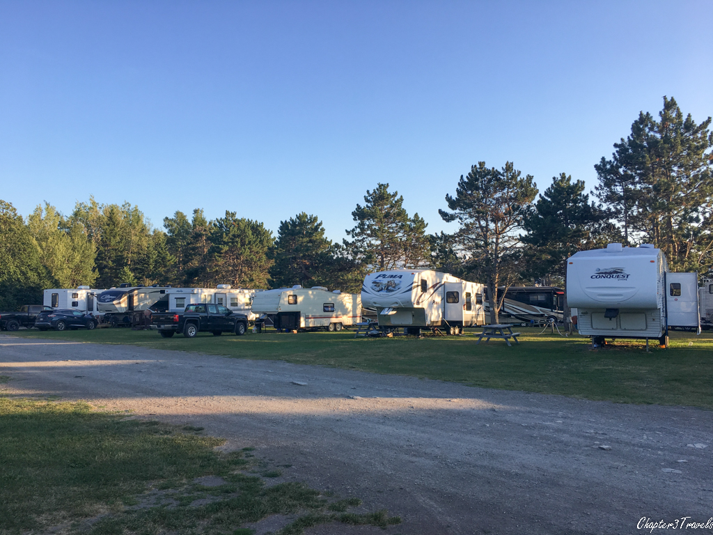 Stonehurst Trailer Park and Golf Course in Moncton, New Brunswick