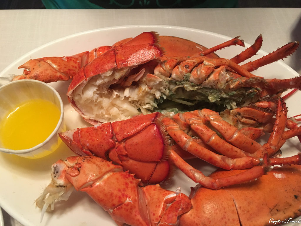 Lobster at New Glasgow Lobster Supper in Prince Edward Island