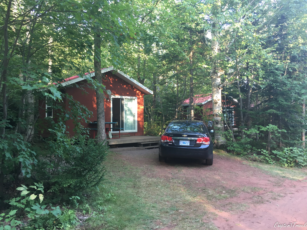 Cabin at New Glasgow Highlands Campground in PEI