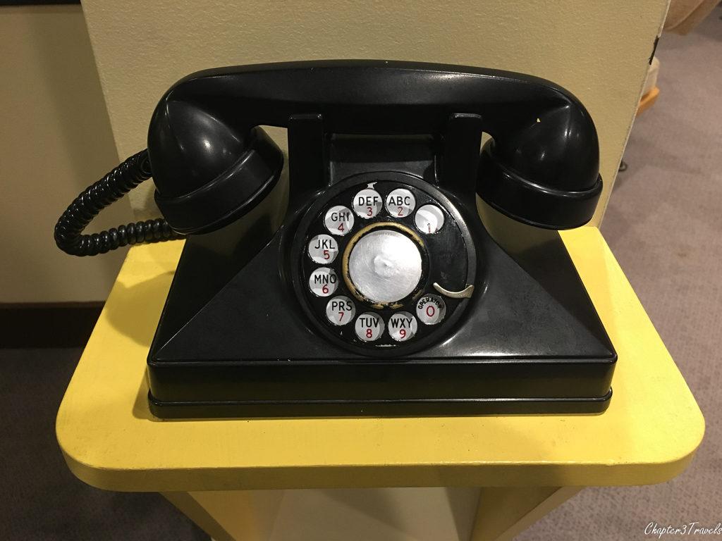 Rotary phone at Alexander Graham Bell Museum