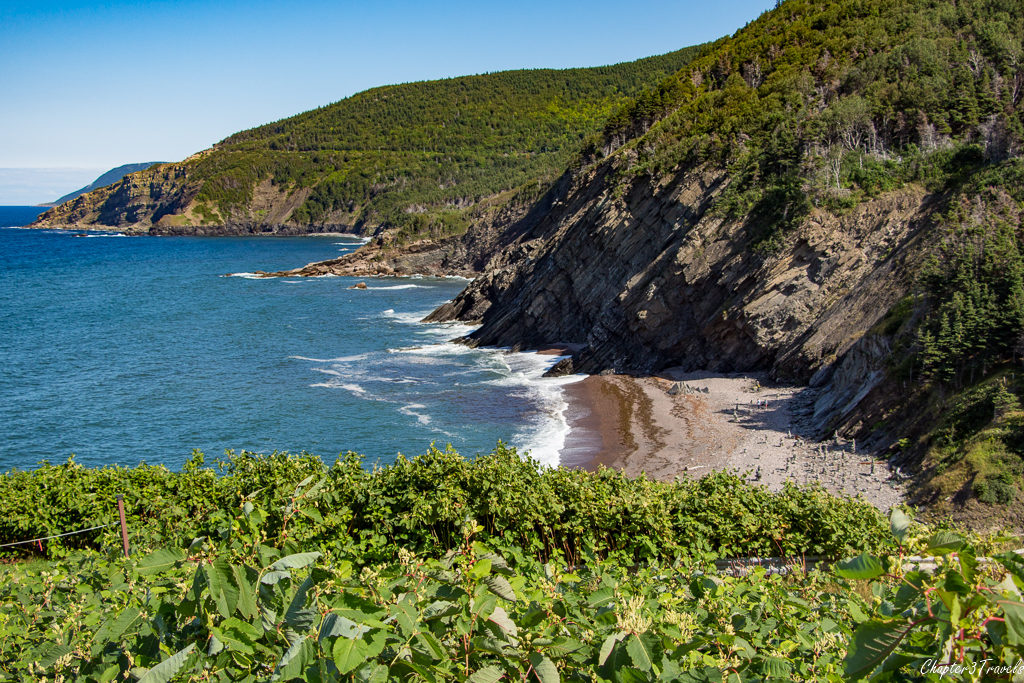 The View from the Meat Cove Chowder Hut in Cape Breton Island