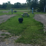"""Campsites at Bras d""""Or Lake Campground"""