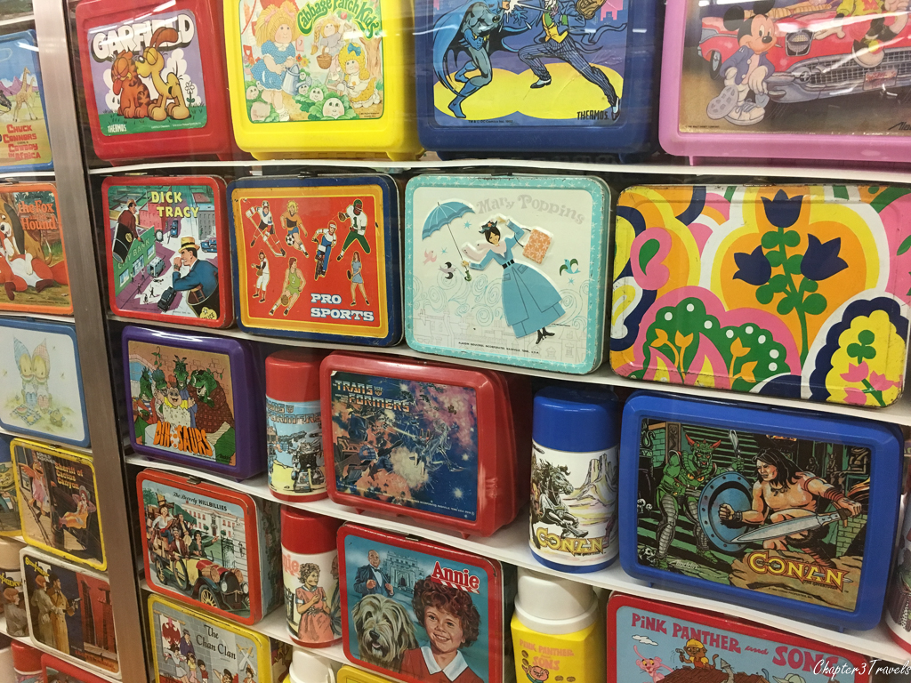 Lunch Boxes at the Vermont Toy Museum
