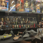 Star Wars toys at the Vermont Toy Museum