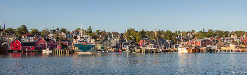 Lunenburg, Nova Scotia from the water