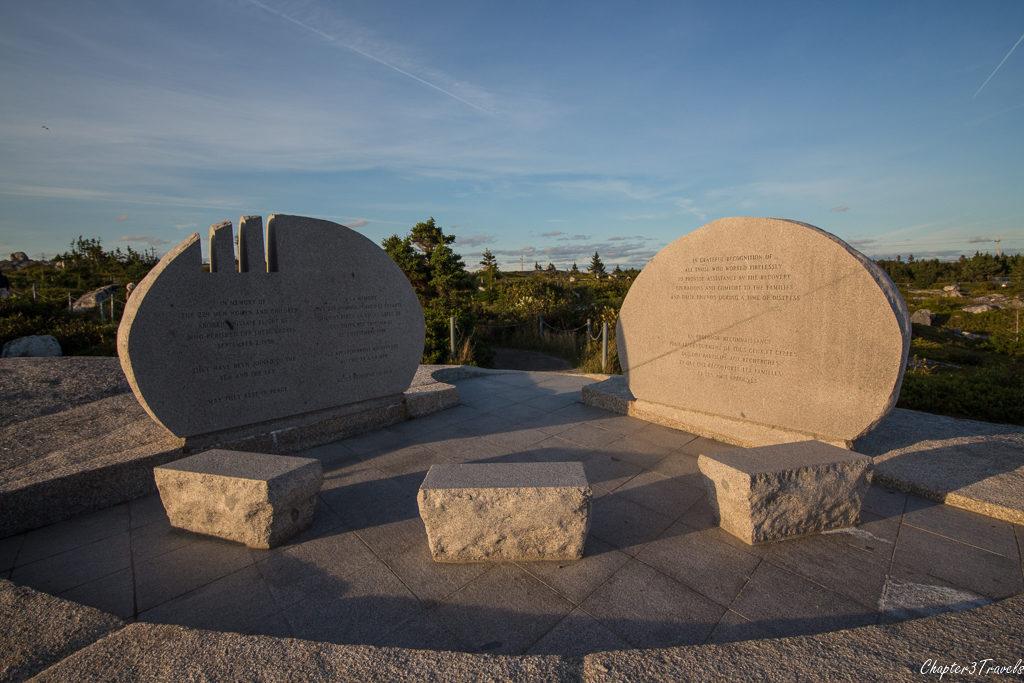 Swissair 111 Memorial at Peggy's Cove