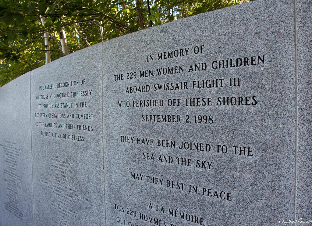 Swissair 111 Memorial at Bayswater
