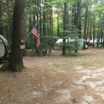 Campsites at Crown Point Camping Area in Perkinsville, Vermont