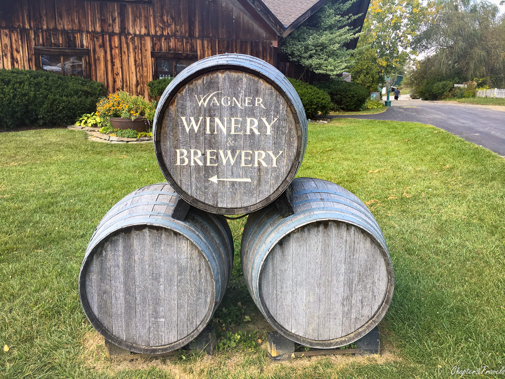 Entrance to Wagner Winery & Brewery