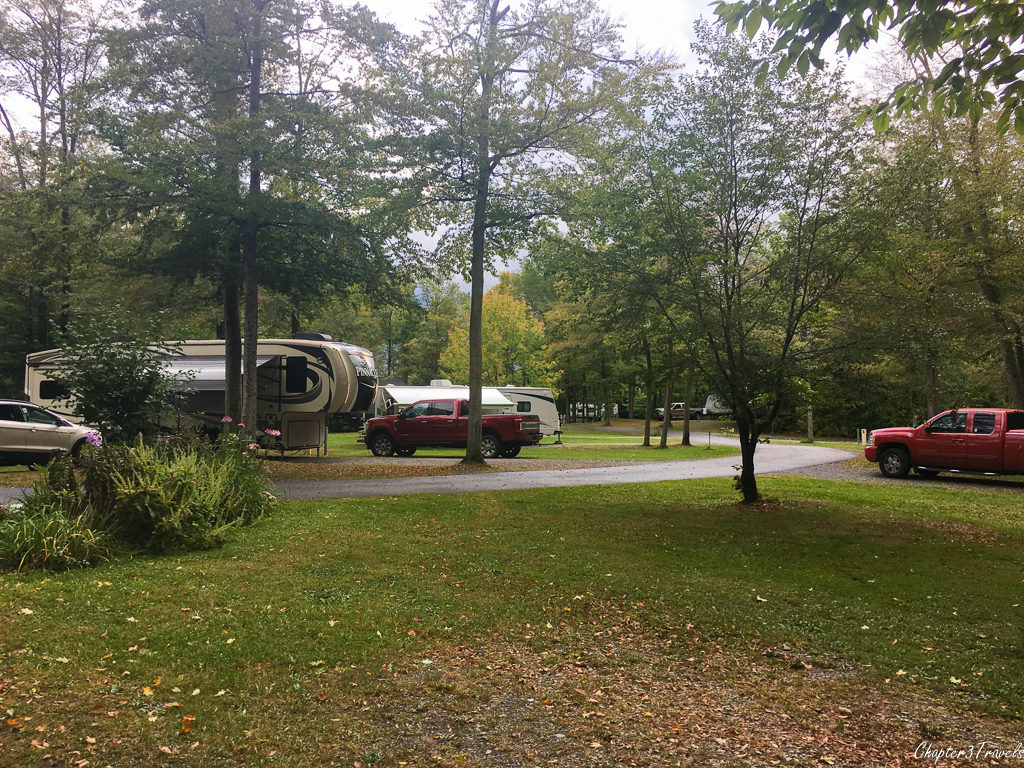 Campground at Darien Lake State Park