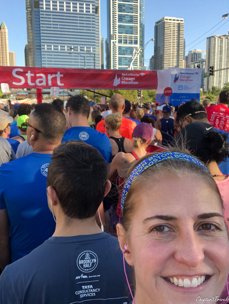 Selfie at the Start line