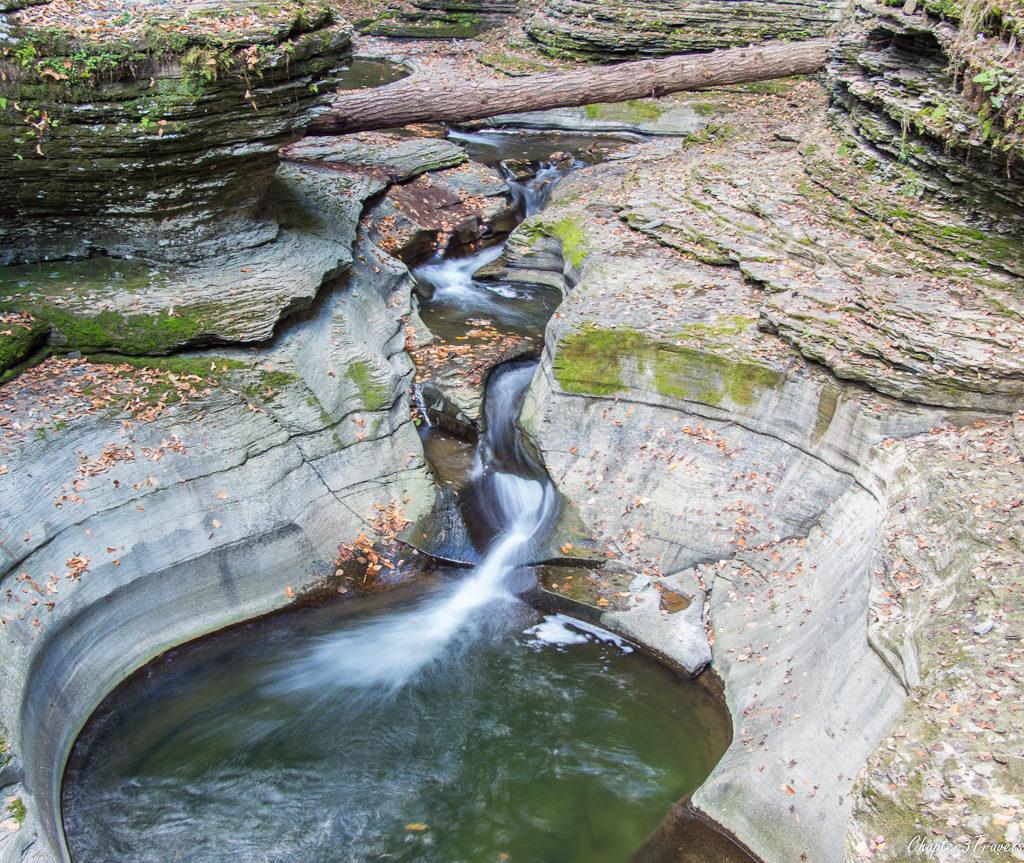 Waterfalls at Watkins Glen State Park in New York