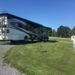 Campsites at Sned Acres Campground in Ovid, New York