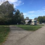 Campsites at Charlestown State Park, Charlestown Indiana