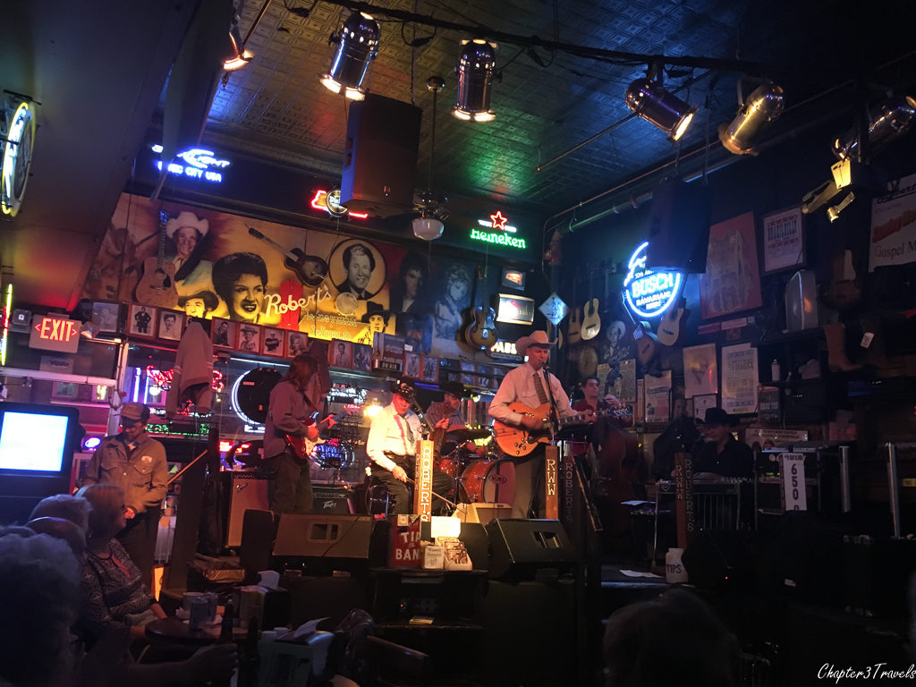 Western swing band at Robert's Western World in Nashville