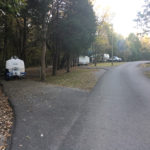 Campsites at Seven Points Campground in Hermitage, Tennessee