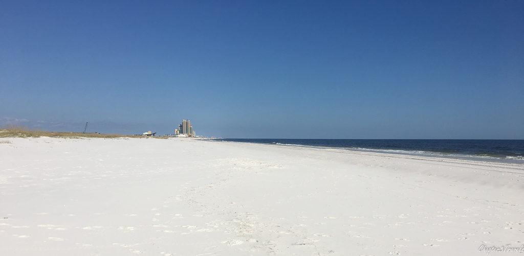 Gulf Shores beach at Gulf State Park