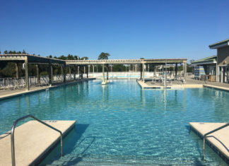 Gulf State Park swimming pool