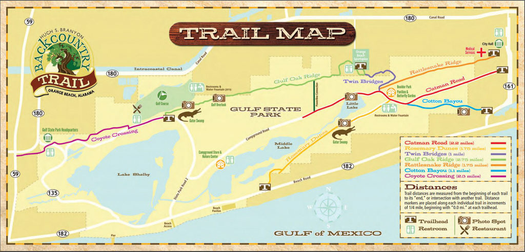 Gulf State Park Map Gulf State Park: How Do We Love Thee? Let Us Count The Ways