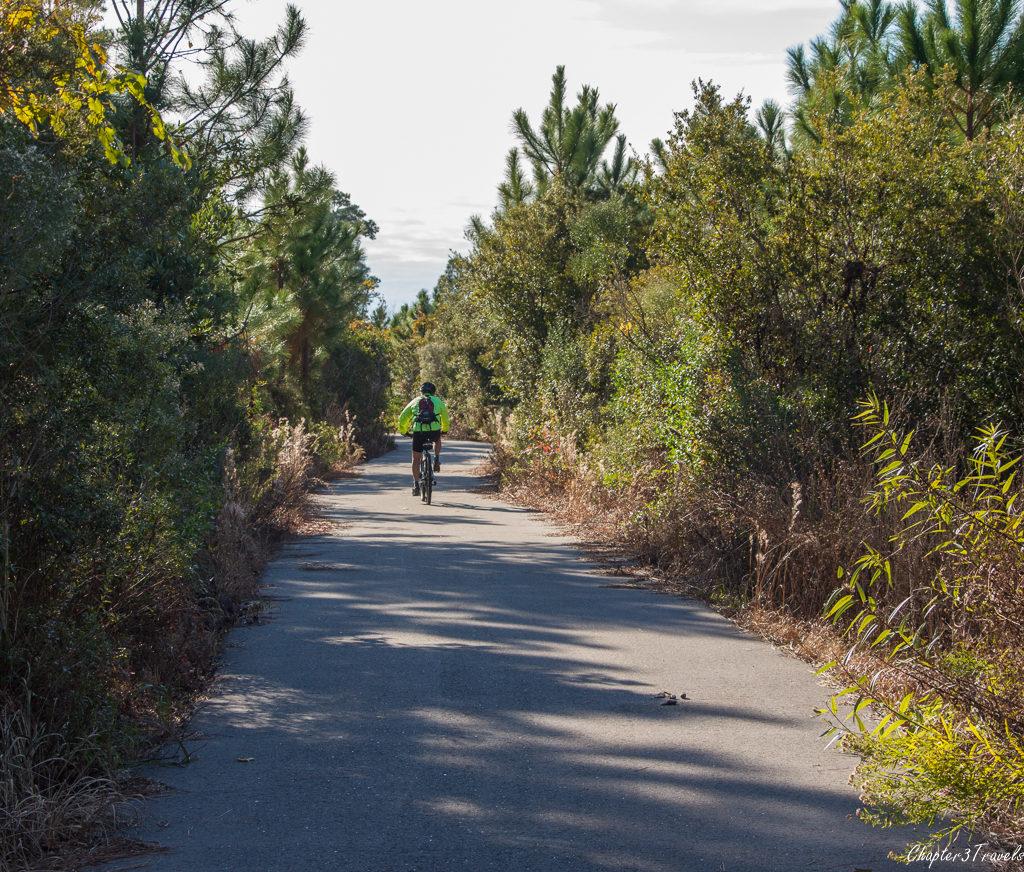 Bike path at Gulf State Park