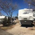Campsites at Austin Lone Star RV Park in Austin, Texas