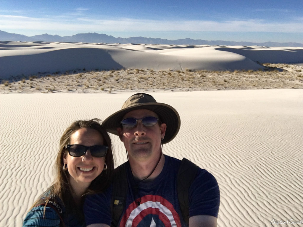 Selfie at White Sands
