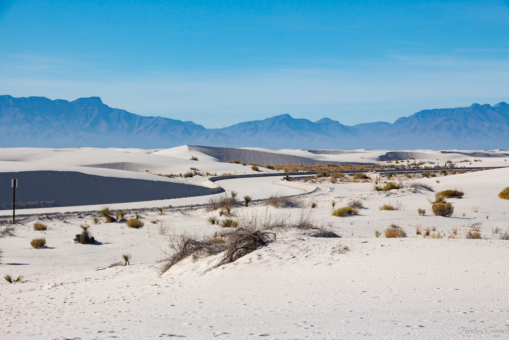 Dunes Drive at White Sands National Monument