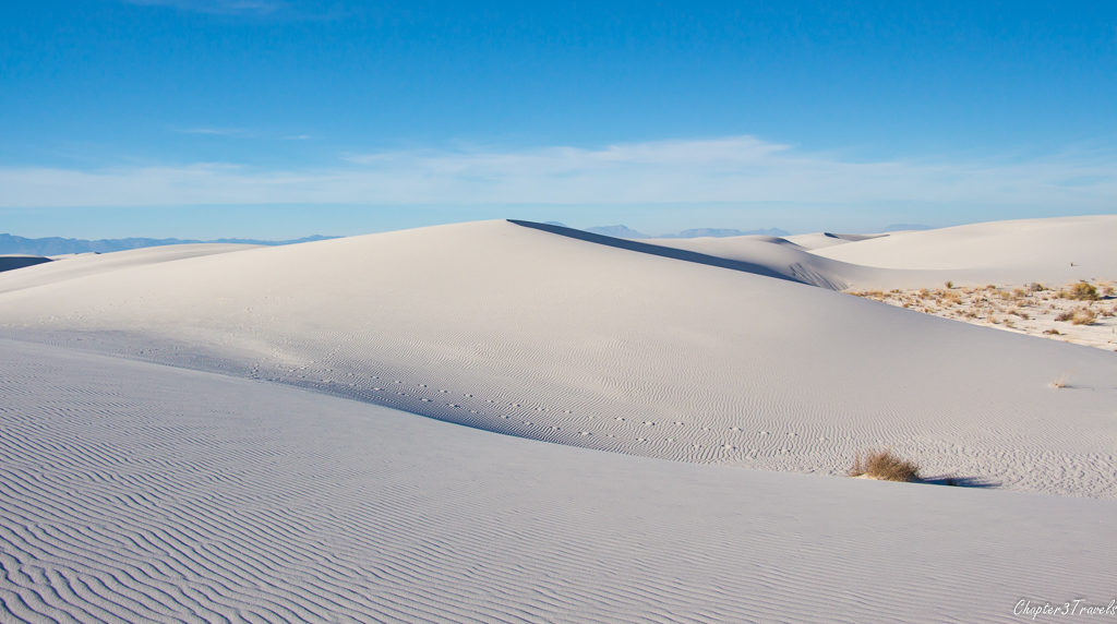 Dunes at White Sands National Monument