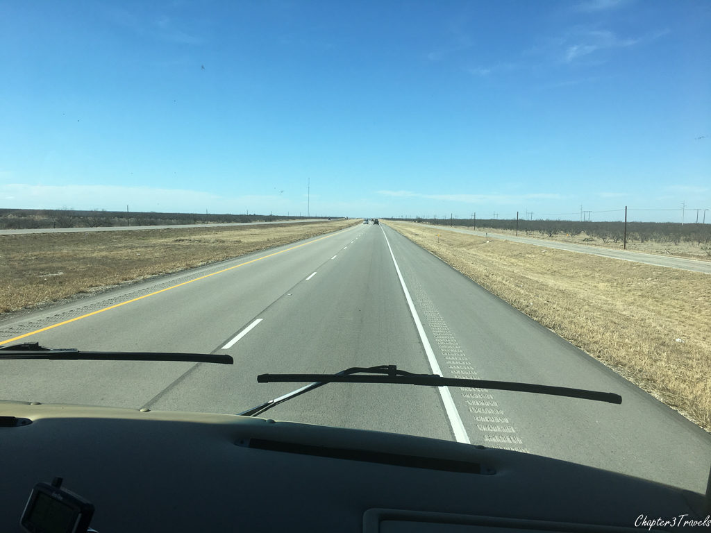 I-10 in West Texas