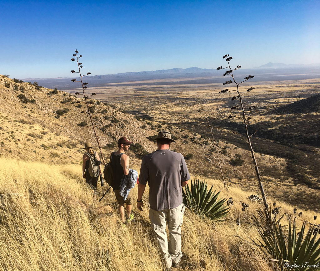 The Guindani Trail at Kartchner Caverns State Park in Benson, Arizona