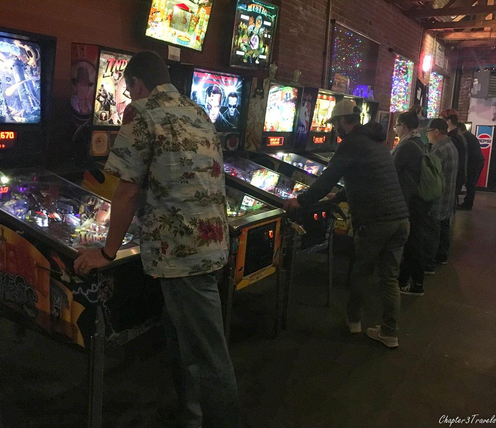 A pinball arcade in Tucson