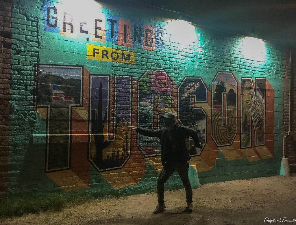 The Tucson mural