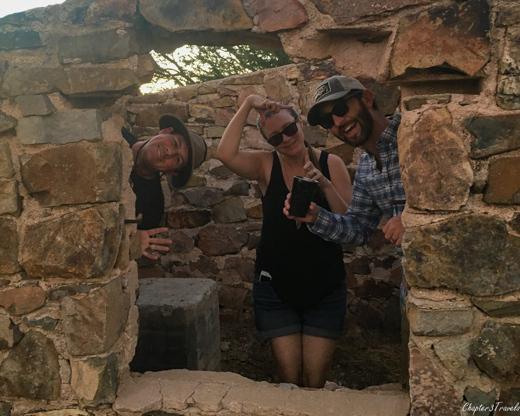 Ruins at Gilbert Ray Campground in Tucson, Arizona