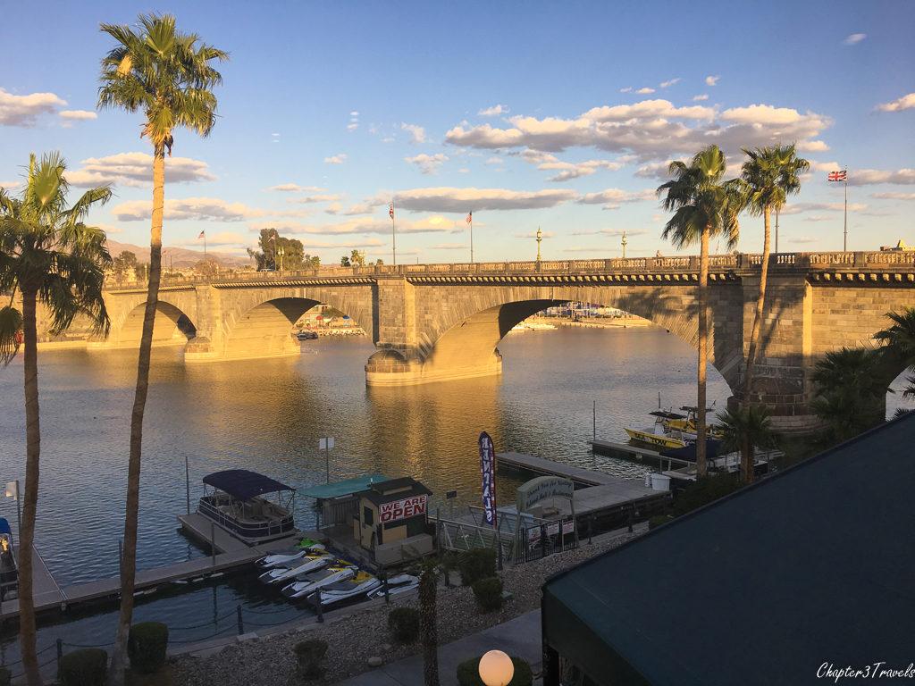 The London Bridge in Lake Havasu, Arizona