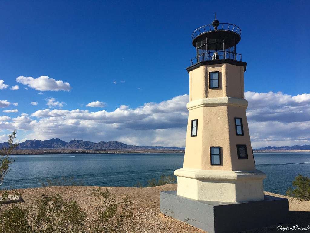Lighthouse on Lake Havasu in Arizona