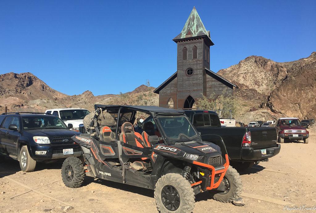 The Desert Bar in Parker, Arizona