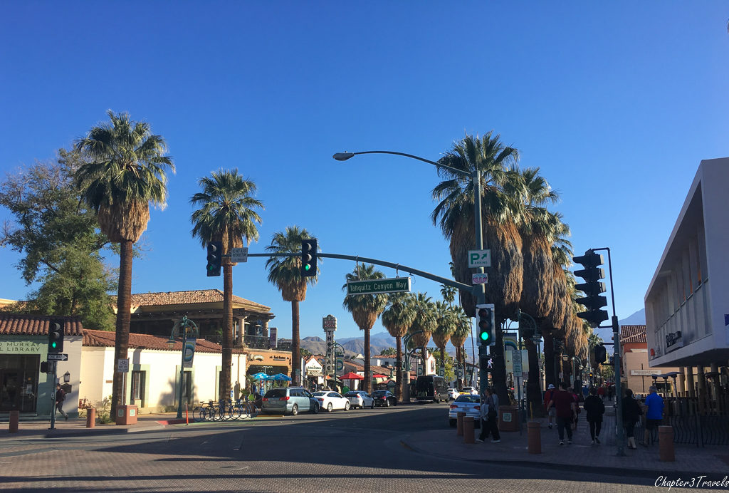 Downtown Palm Springs, California