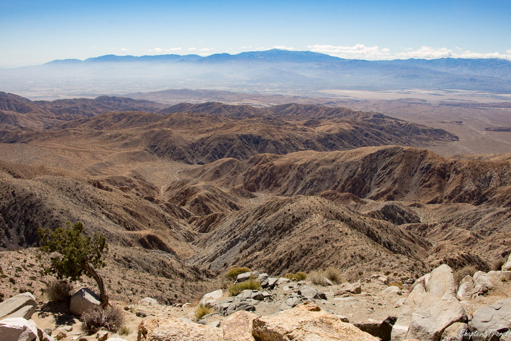 View from Keys View at Joshua Tree National Park