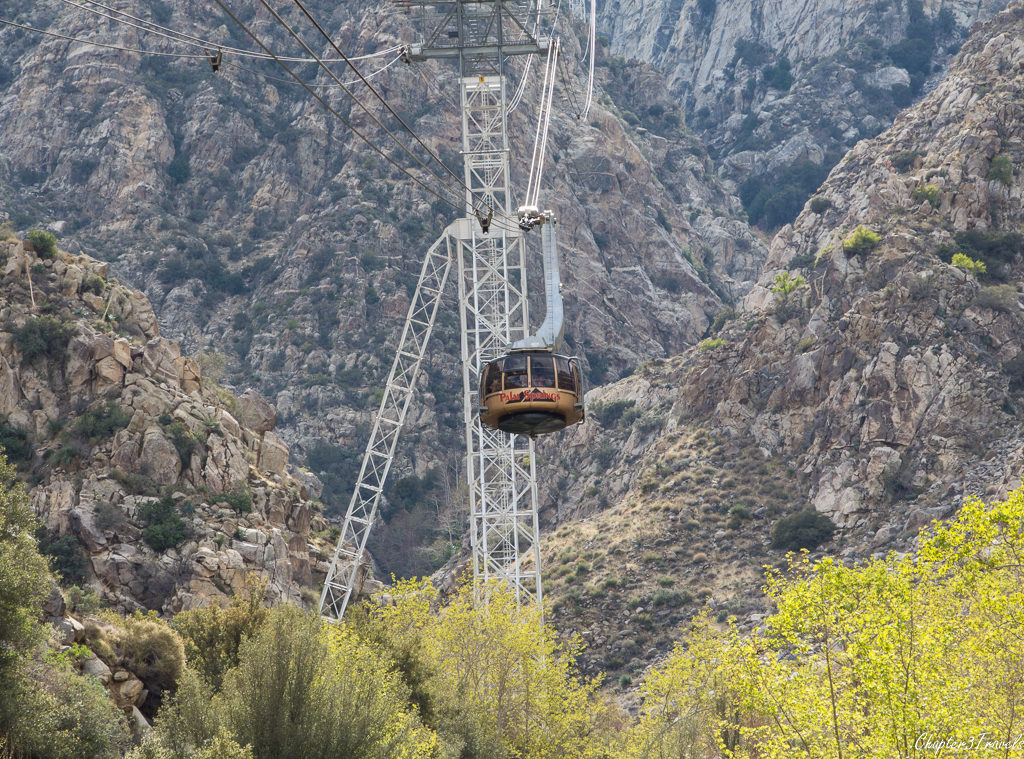 Palm Springs Tram in Palm Springs, California