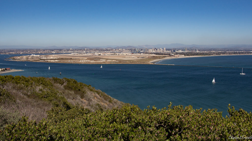 Ocean view from Cabrillo National Monument, San Diego