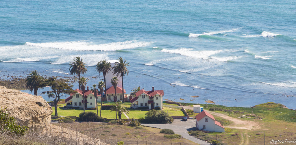 New point Loma Lighthouse buildings in San Diego, California
